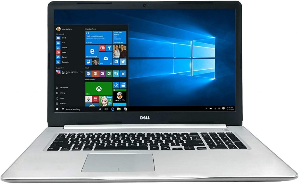 Dell Inspiron 17 Best Hacking Laptop